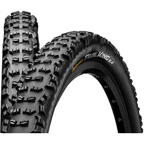 "Continental Trail King Bike Tire Performance 26"", wire bead black"